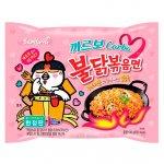 Лапша быстрого приготовления Hot Chicken острая курица в соусе карбонара Samyang, 130 г