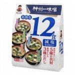 Мисо-суп Miyasaka ассорти (5 вкусов) с пониженным содержанием соли, 12 порций, 181,1гр