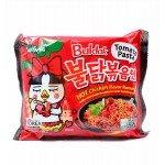 """""""Samyang""""  Острая лапша (рамен)  со вкусом курицы и томатной пасты, 140гр."""