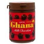 Lotte Шоколад молочный Ghana в банке, 118 гр.