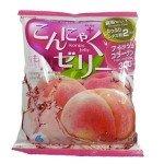 Yukiguni Aguri Желе порционное Конняку со вкусом персика, 6х18 гр, 108 гр