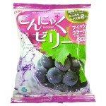 Yukiguni Aguri Желе порционное Конняку со вкусом винограда, 6х18 гр, 108 гр