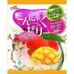Yukiguni Aguri Желе порционное Конняку со вкусом манго, 6х18 гр, 108