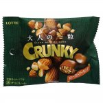 Lotte Crunky Шоколадное драже с жаренным миндалём, 34 гр