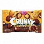 Lotte Crunky Шоколадное драже с начинкой из печенья, 37 гр