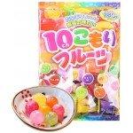 """Ribon """"10 kinds Fruits Candy"""" ассорти леденцов из 10 фруктовых вкусов, 180 г"""