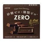 LOTTE Zero Bitter - Шоколад Зеро Биттер горький, без сахара 5шт., 50гр.