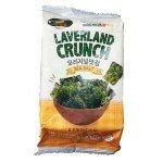 Морская капуста хрустящая с добавлением морской соли Laverland Crunch Crispy Sеаweed 4.5 г