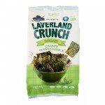 Морская капуста хрустящая с васаби Laverland Crunch Crispy Seаweed 4.5 г