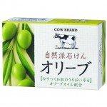 Cow Brand Натуральное увлажняющее мыло с оливковым маслом, 100 гр