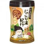 Hakugen Увлажняющая соль для ванны с восстанавливающим эффектом, аромат кипариса, банка, 600 гр