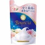 """Увлажняющее мыло для тела с гиалуроновой кислотой и коллагеном """"Взбитые сливки"""" COW BRAND BOUNCIA, цветочный аромат, 400 мл"""