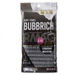 Массажная мочалка с высоким пенообразованием Aisen Bubbrich сверхжесткая, черная, 28х100 см