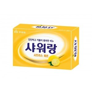 MKH Мыло туалетное твердое с ярким ароматом лимона «Mukunghwa» 130 гр
